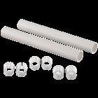 Защитная гильза для труб PEX белая,200мм (2 шт.)