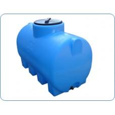 Пластиковая емкость 2100 л цилиндрическая горизонтальная