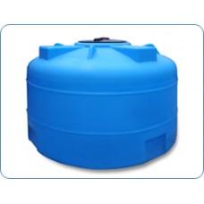 Пластиковая емкость 2000 л с крышкой 380 мм