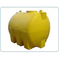Пластиковая емкость 3000 л цилиндрическая горизонтальная
