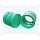 Секция пластикового канализационного колодца с дном 600 мм