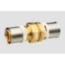 Муфта с равными отводами латунь 26*26 мм