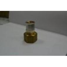 Переход с внутренней резьбой латунь 32 мм *1