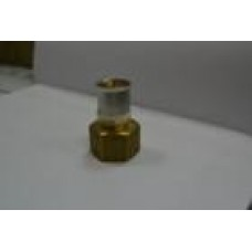 Переход с внутренней резьбой латунь 63 мм *2