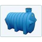 Бак пластиковый горизонтальный цилиндрический Анион, 3400 литров