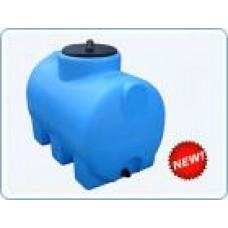 Бак пластиковый горизонтальный цилиндрический Анион , 300 литров
