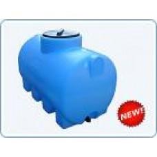 Бак пластиковый горизонтальный цилиндрический Анион, 750 литров