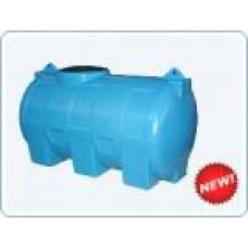 Бак пластиковый горизонтальный цилиндрический Анион, 1000 литров