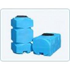 Бак для воды  пластиковый прямоугольный, 500 л