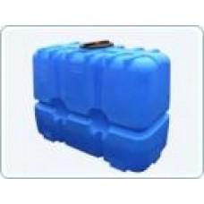 Бак для воды  пластиковый прямоугольный, 2000 л
